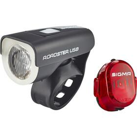 SIGMA SPORT Roadster zestaw oświetlenia rowerowego USB/Nugget II